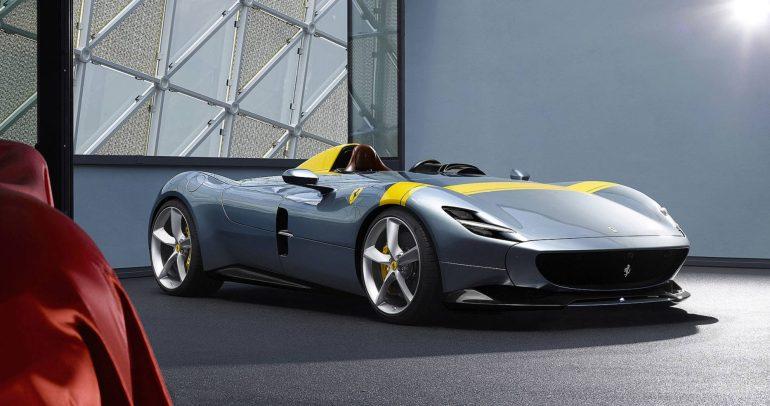 العلم يحسم.. فيراري مونزا SP1 أجمل سيارة أداء في العالم