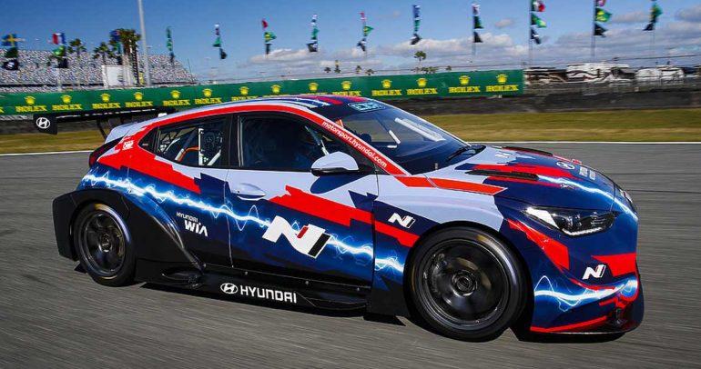 """هيونداي """"موتور سبورت"""" تدمج قوة الأداء ومفاهيم الاستدامة في سباقات السيارات الكهربائية"""