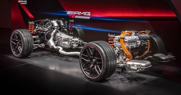 مرسيدس AMG تستعرض أداء مستقبل القيادة بأنظمتها الهجينة الجديدة