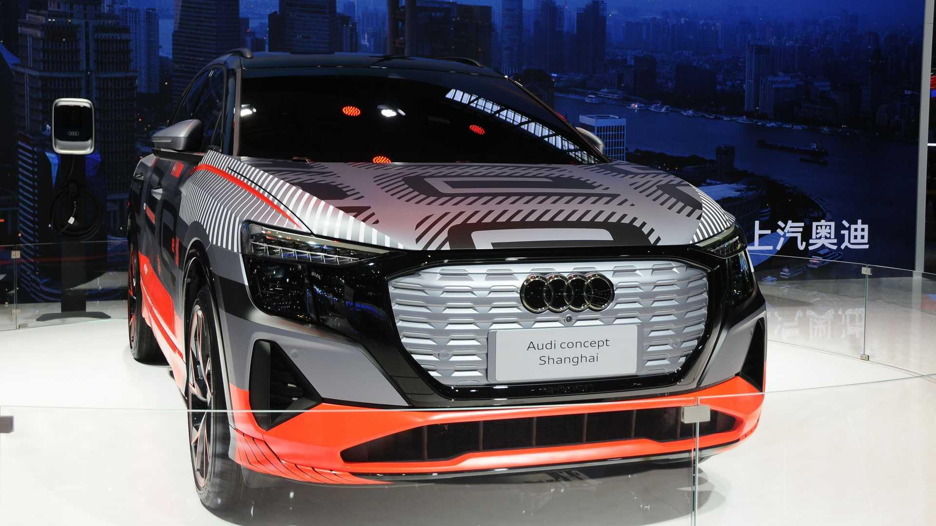مفهوم أودي الكهربائي SUV الجديد