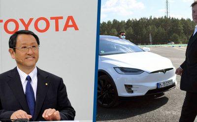 تسلا وتويوتا - تصنيع سيارة إس يو في