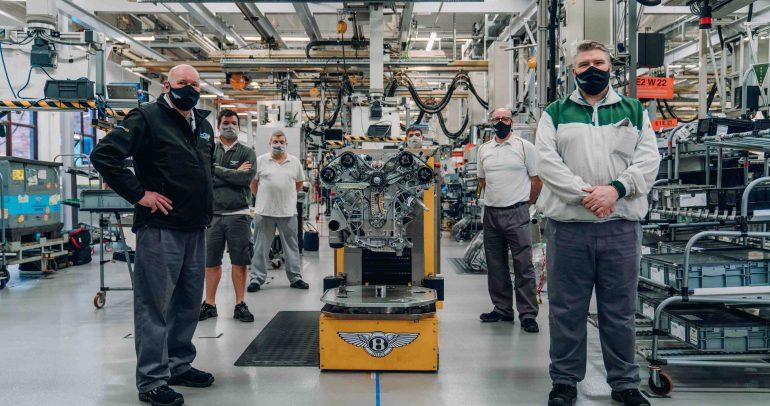 محرّك W12 لسيارة Bacalar الأولى للعملاء يكمل الاختبارات الخاصّة به