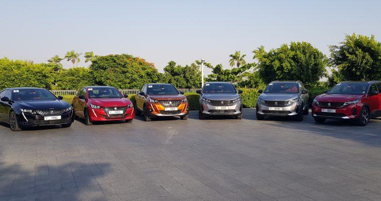 بالصور والفيديو: 6 سيارات بيجو جديدة ومحدّثة للعام 2022 تحت الاختبار والتجربة