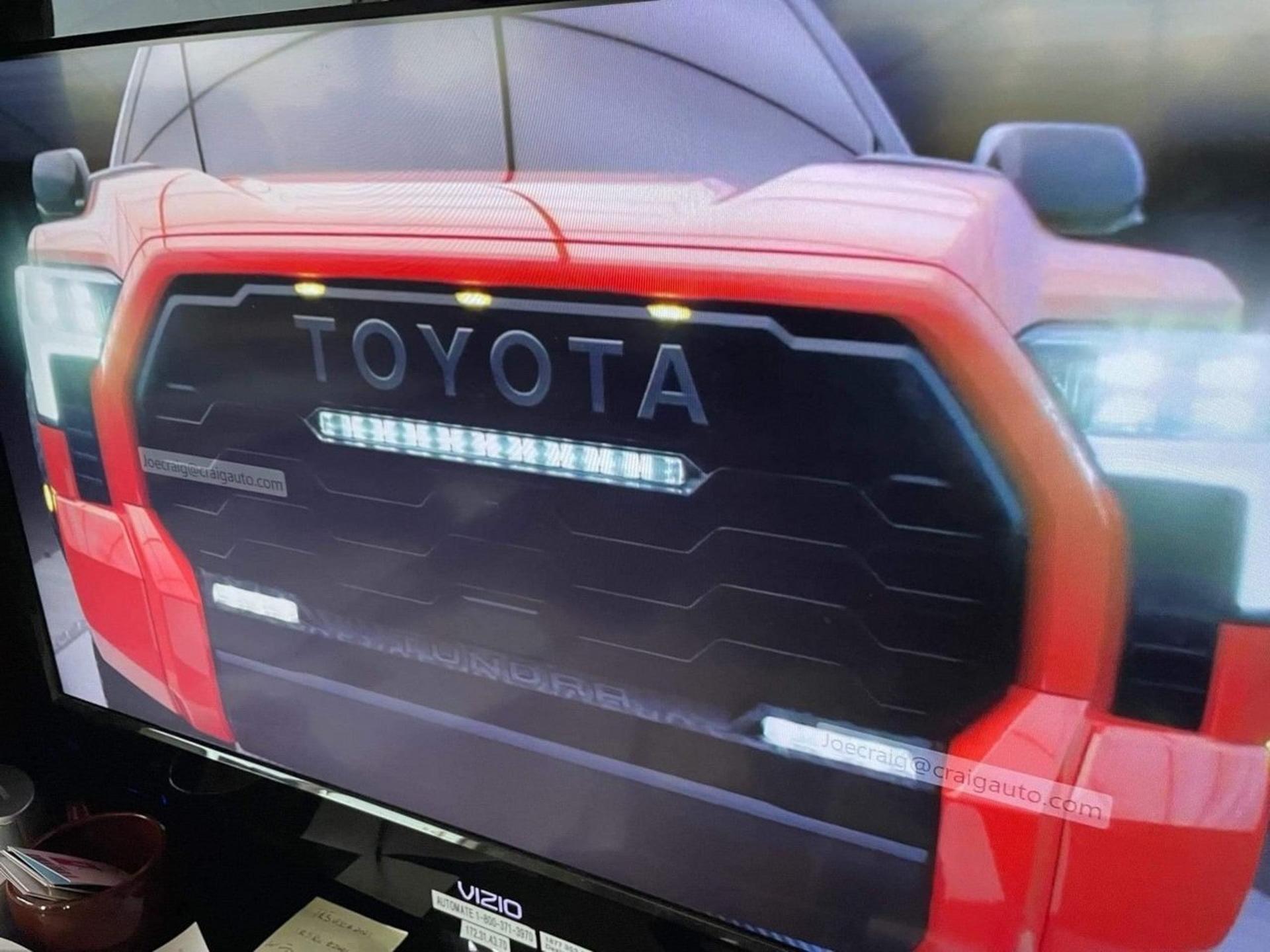 تويوتا تندرا تراد برو 2022