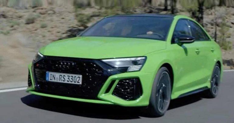 تسريب: هذه هي سيارة أودي RS3 الجديدة قبل طرحها