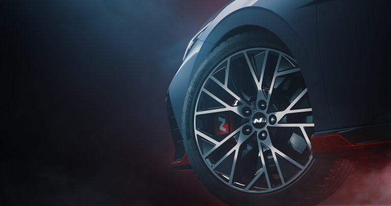 هيونداي موتور تنشر أول صور لسيارة إلنترا N الرياضية المتطورة