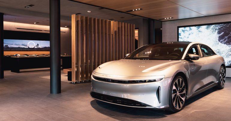 بالصور: لوسيد موتورز تتوسع في أمريكا وتفتتح استديو رائد بنيويورك