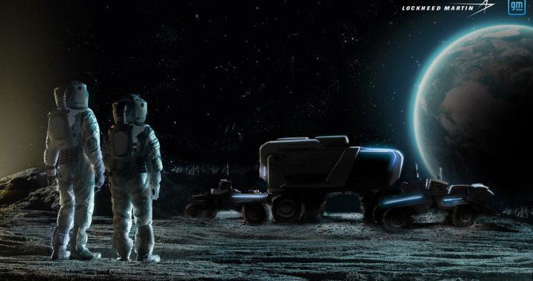 'لوكهيد مارتن' و'جنرال موتورز' تتعاونان لتطوير عربة قمرية من الجيل المقبل
