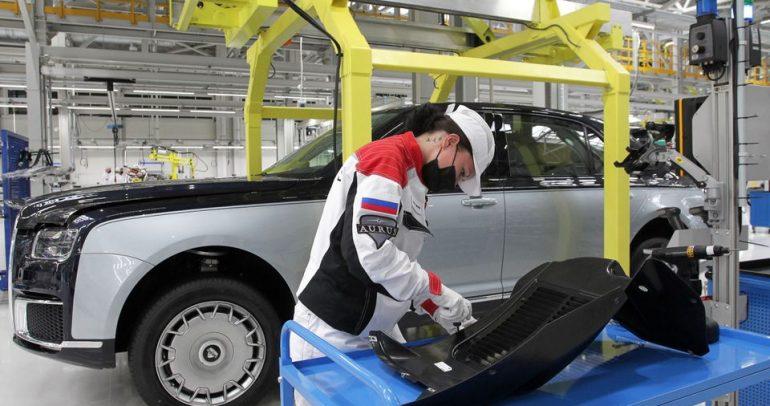 روسيا تبدأ بإنتاج سيارة آوروس سينات الفاخرة بسعر 245 ألف دولار