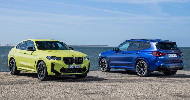 الظهور الأول لتشكيلة سيارات بي إم دبليو X3 و X4 المحدثة لعام 2022