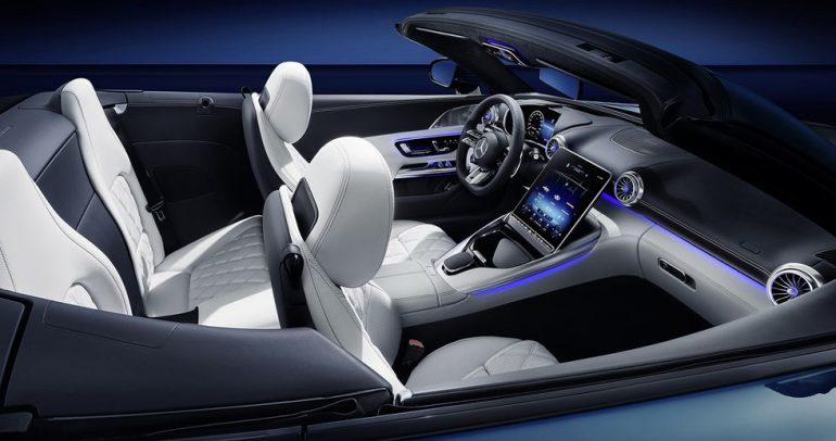 الكشف عن المقصورة الداخلية لسيارة مرسيدس ايه إم جي إس إل2022