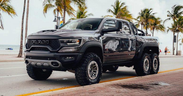 رام تي آر إكس 1500 بستة عجلات.. الشاحنة الأقوى في العالم تزداد توحشاً