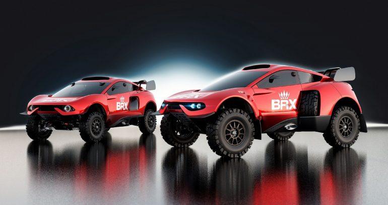 فريق البحرين ريد إكستريم يشارك بسيارة برودرايف هانتر في رالي داكار 2022