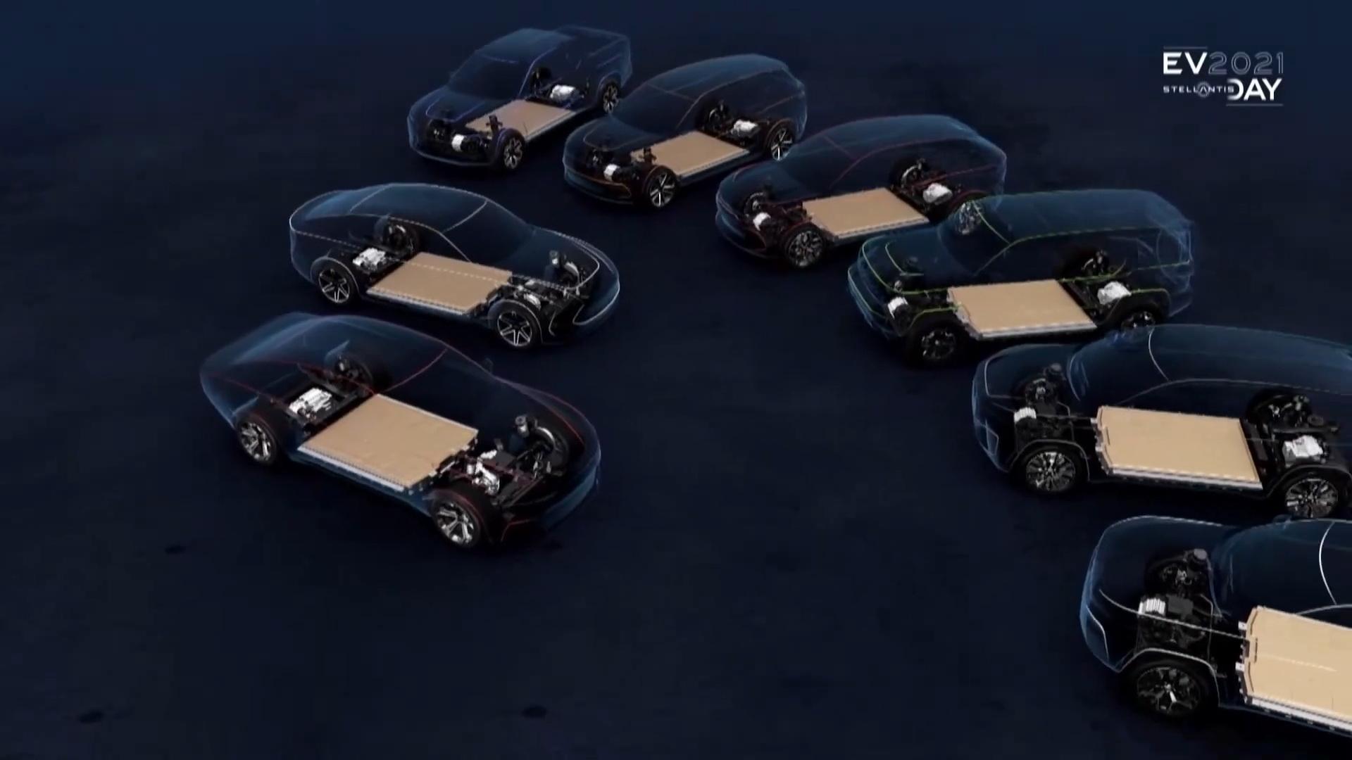 ستيلانتيس - 8 سيارات كهربائية
