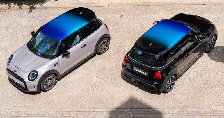 ميني تطرح سقف مذهل يمزج 3 ألوان كخيار للسيارات الجديدة