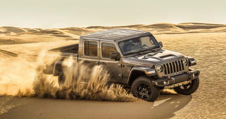 جيب جلاديتور ساند رانر… شاحنة البيك أب المصنوعة للتغلّب على الصحراء