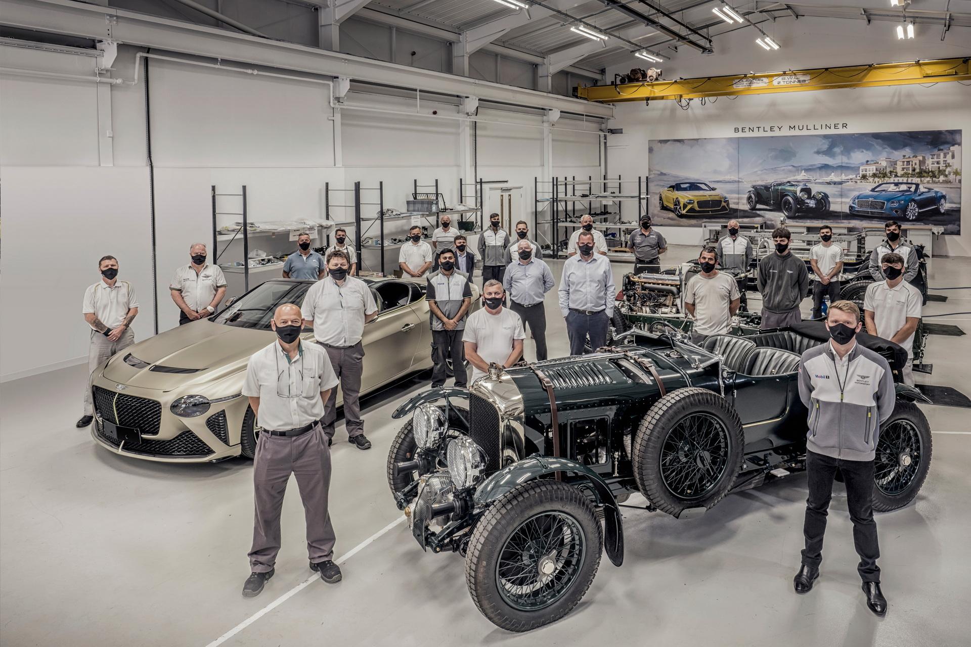 بنتلي تضع اللمسات الأخيرة على إنتاج أول سيارة باكالار بمحرك W12 وقوة 650 حصان