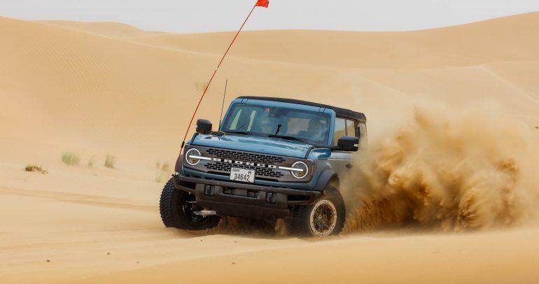 فورد برونكو الجديد كلياً: تصميم متين يتحمل أقسى ظروف القيادة في الشرق الأوسط