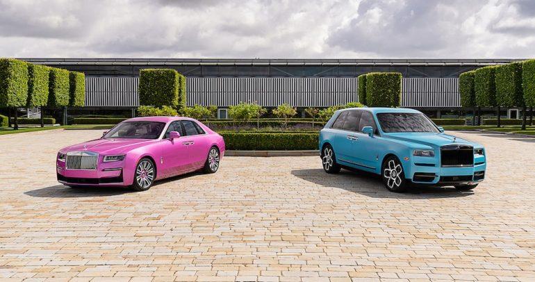 تصميمان مذهلان مخصصان من رولز-رويس في أسبوع مونتيري للسيارات