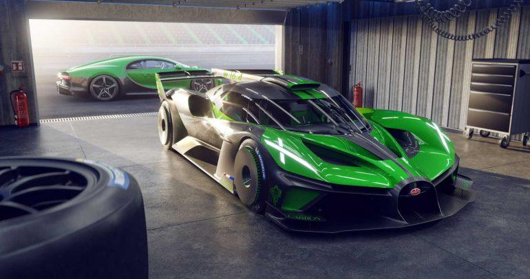 بوجاتي تطور نسخة إنتاجية من سيارة بوليد الرياضية الفائقة التجريبية