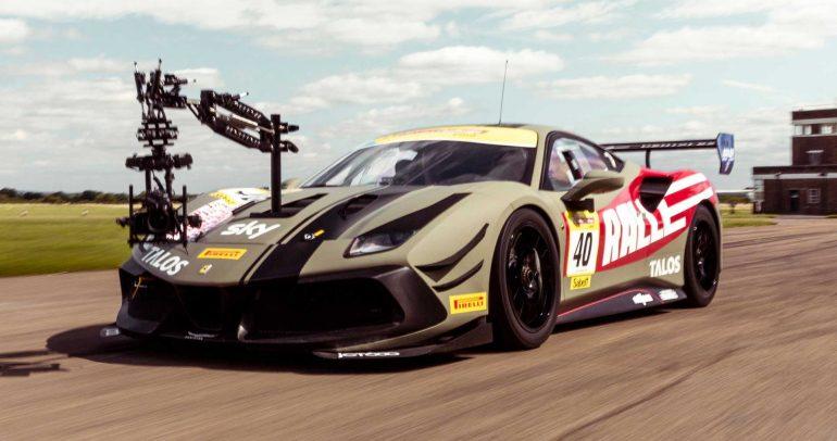 """مجموعة """"رالي"""" تحول سيارة فيراري 488 إلى أسرع سيارة تصوير سينمائي"""