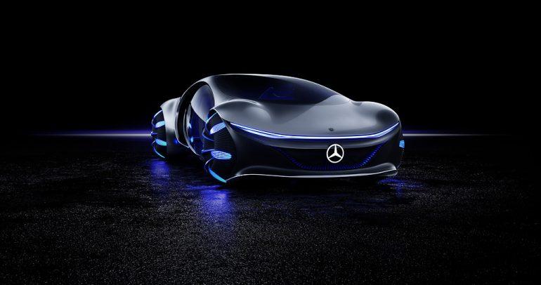 مرسيدس- بنز تستعرض القدرات العلمية لسيارة فيجين أفاتار الاختبارية في ميونيخ