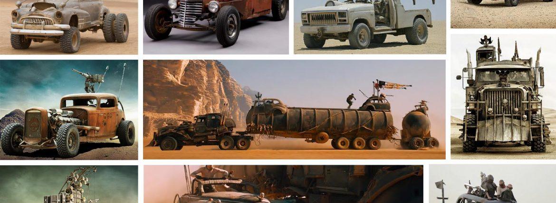 سيارات فيلم ماد ماكس