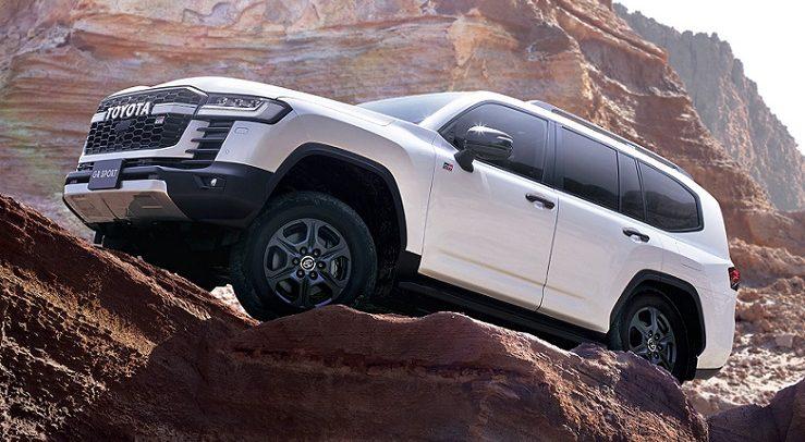 طرح تويوتا لاند كروزر طراز جي آر سبورت الجديدة كلياً في الإمارات