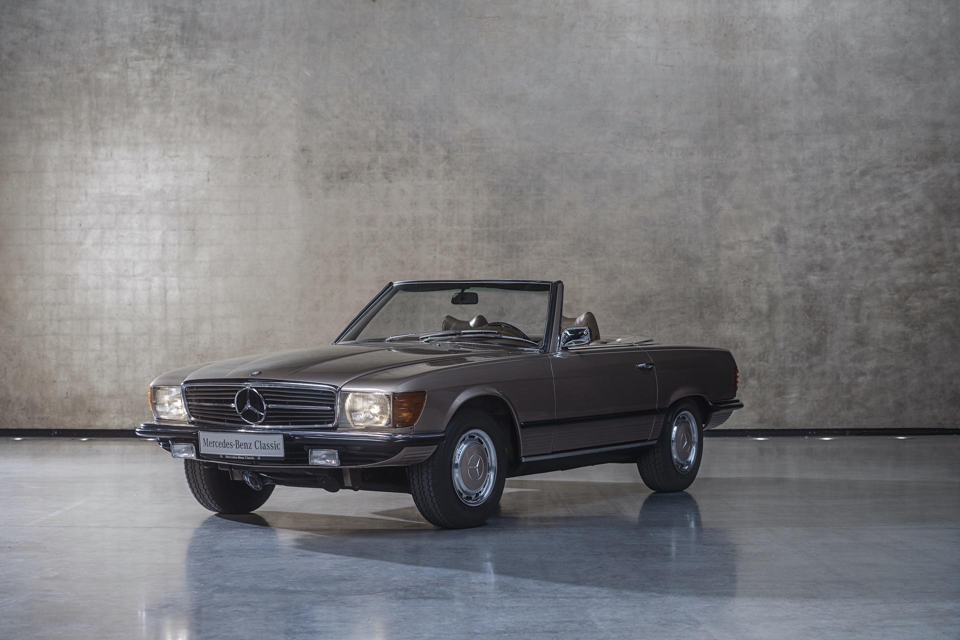 مرسيدس بنز SL R107 – من 1971 إلى 1989