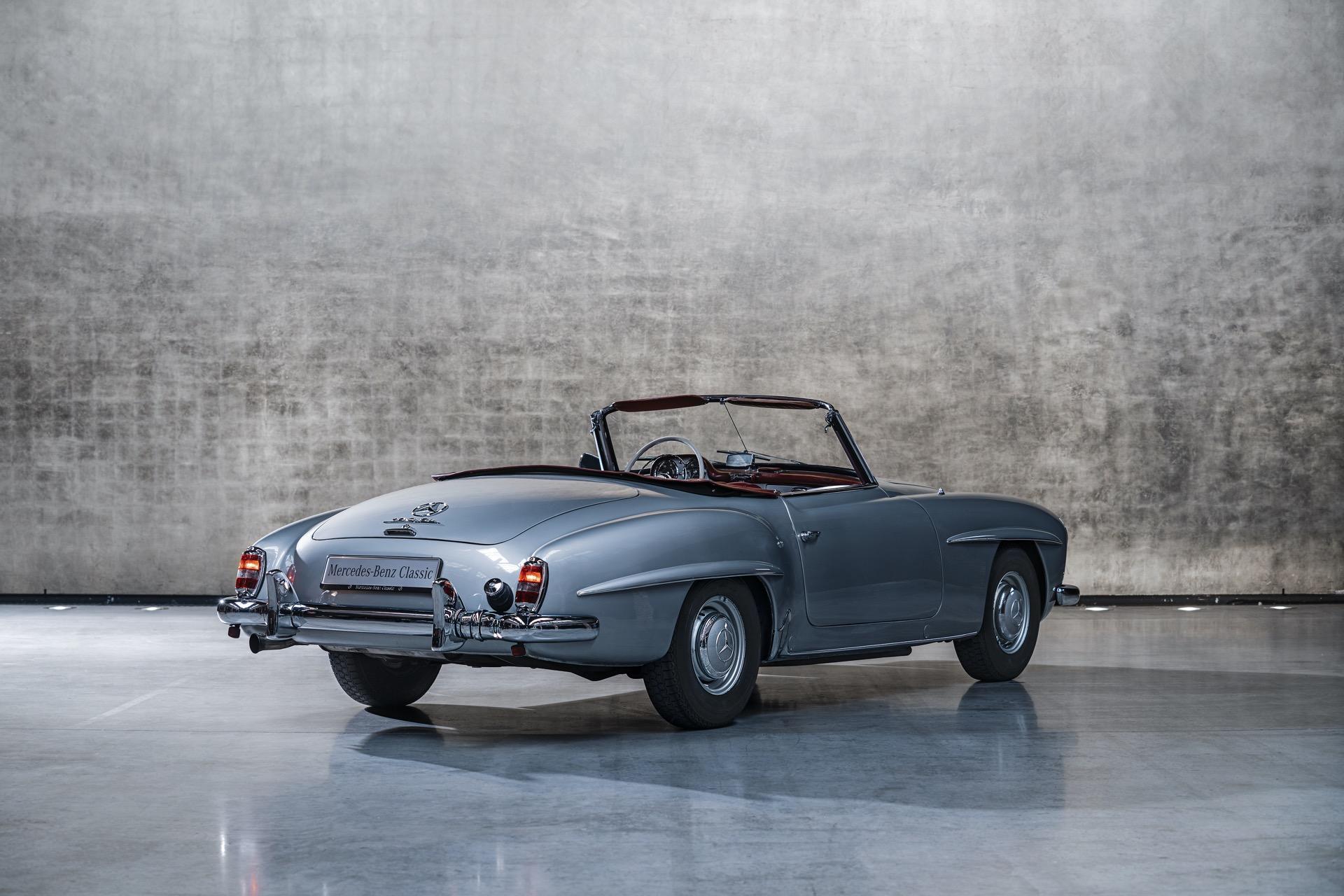 مرسيدس بنز 190 SL (W121) - من 1955 إلى 1963