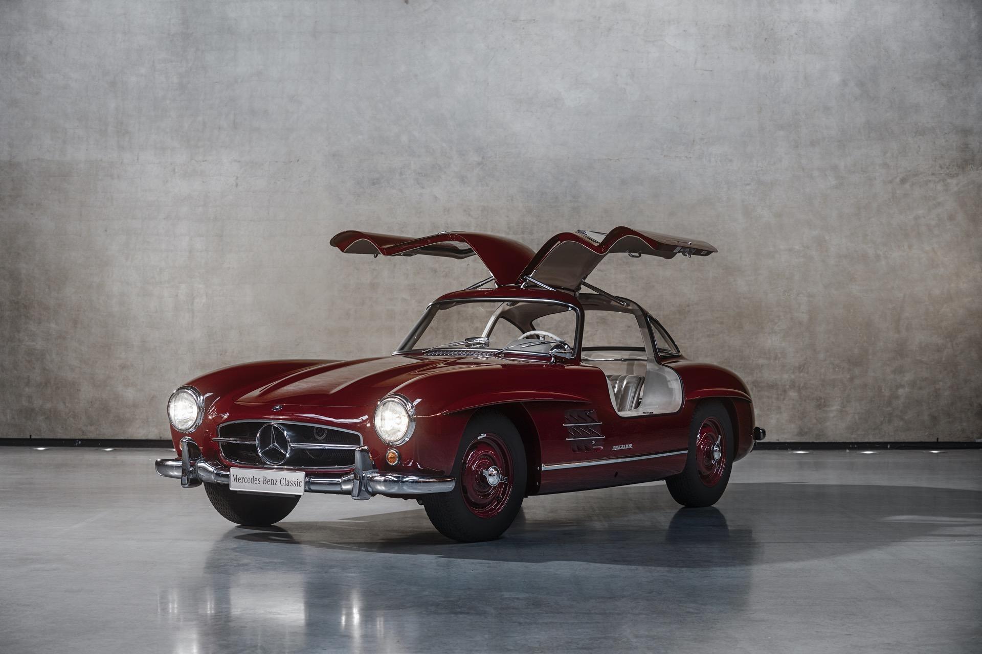مرسيدس بنز 300 SL كوبيه (W198) - 1954 إلى 1957