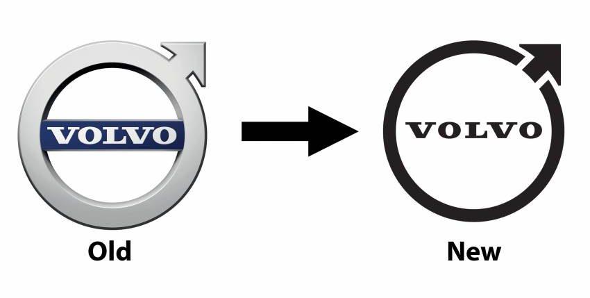فولفو - شعار جديد