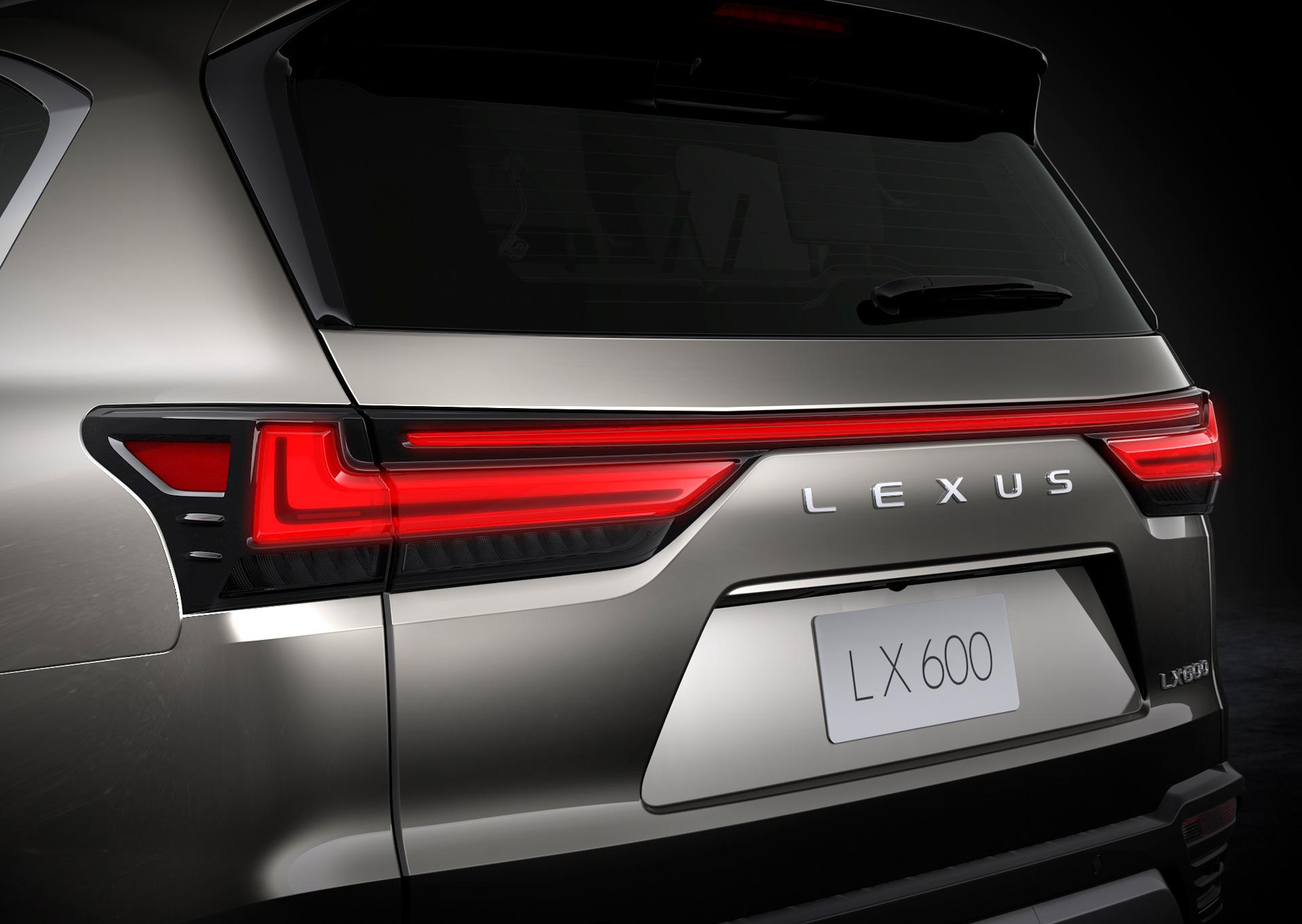 لكزس LX الجديدة كلياً