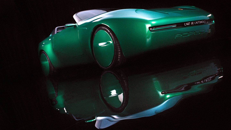 بورشه 968 سبيدستر - آرثر كار