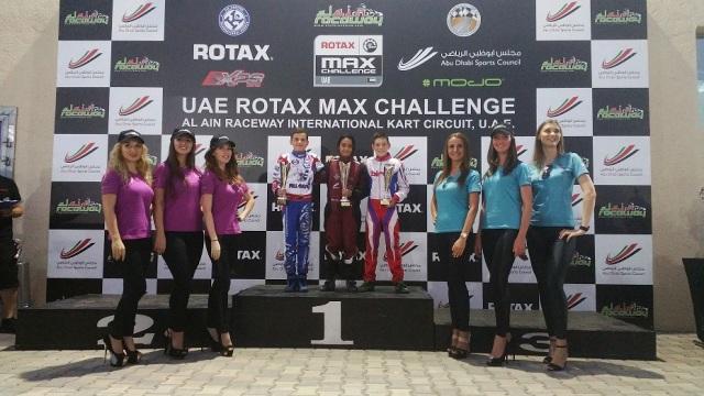 Hamda Al Qubaisi tops up her mini max class.jpg